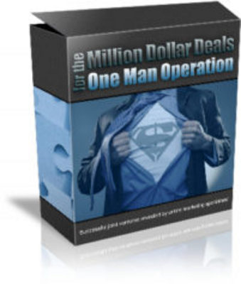 Product picture Million Dollar Deals for the One Man Operation with MRR