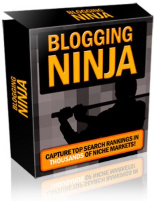 Product picture Blogging Ninja + Master Resell Rights