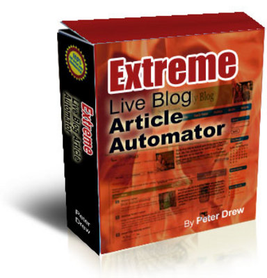 Product picture Extreme Live Blog Article Automator + Master Resell Rights