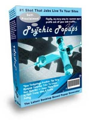 Product picture Psychic PopUp Traffic Solution