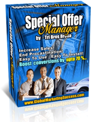 Product picture Special Offer Manager + Master Resell Rights